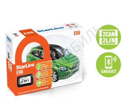 StarLine E96 V2 BT 2CAN+4LIN